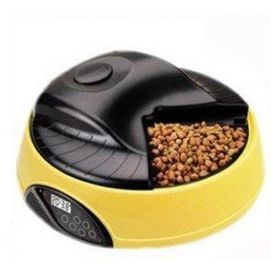 """Автоматическая кормушка-дозатор """"Feed-Ex""""на 6 кормлений - полезный гаджет для занятых владельцев животных.Накормит,но не перекормит питомца во время вашего отсутствия."""