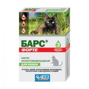 средства защиты от клещей для кошек