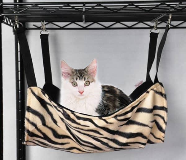 подвесной гамак для кошки